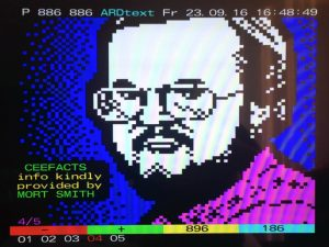 Teletext art of Mort Smith