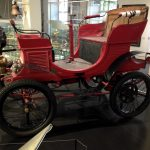 Photo of vintage car in the Cologne City Museum