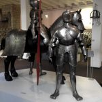 Photo of a suit of armour in Cologne City Museum