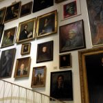 Photo of portraits on display in the Cologne City Museum