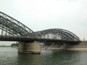 Photo of Hohenzollern railway bridge, Cologne, Germany