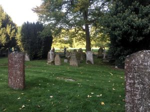 Photo of Holy Trinity Church graveyard