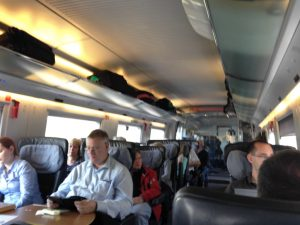 Photo of First Class Interior of an ICE 3 train