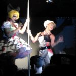 Photo of two drag performers in Monster Ronson's Ichiban Karaoke