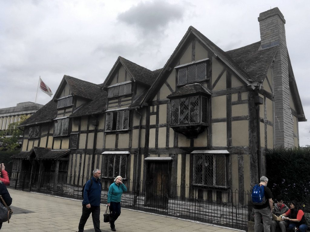 Photo of Shakespeare's Birthplace, Stratford-upon-Avon