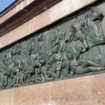 Frieze at the base of the Victory Column