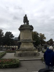 Statue of William Shakespeare in Stratford-upon-Avon