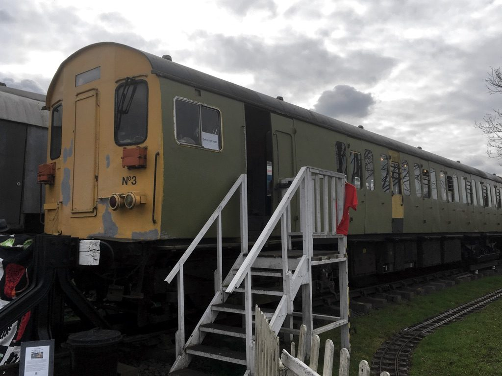 Class 501 driving vehicle at Electric Railway Museum