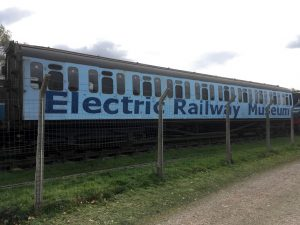 EMU vehicle at Electric Railway Museum
