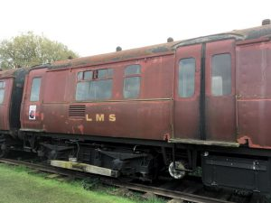 Class 503 vehicle at Electric Railway Museum