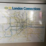Photo of faded London Connections map