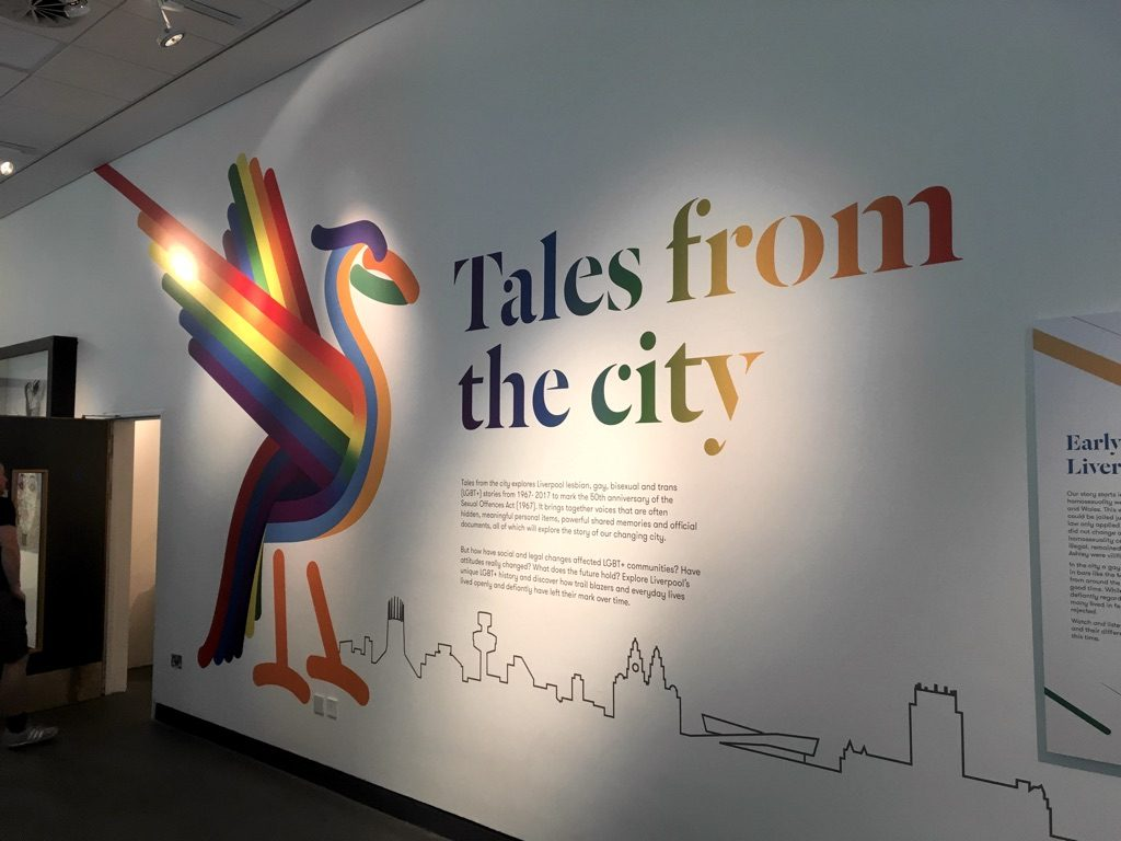 Tales from the City exhibit at the Museum of Liverpool