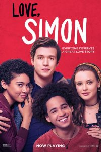 Poster for Love, Simon showing main cast