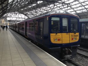 Northern Rail Class 319 at Lime Street station