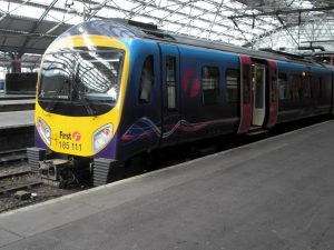 Transpennine Class 185 at Liverpool Lime Street