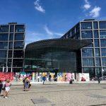 Photo of entrance to Berlin Hauptbahnhof