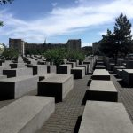 Photo of the Holocaust Memorial in Berlin