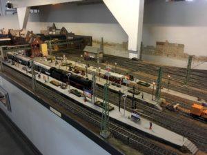 Photo of station in the Museum of Hamburg model railway