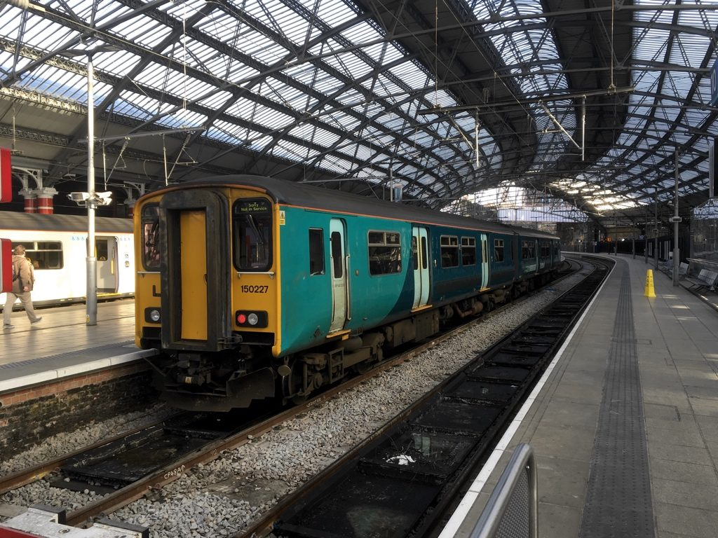 Photo of Transport for Wales Class 150 at Liverpool Lime Street