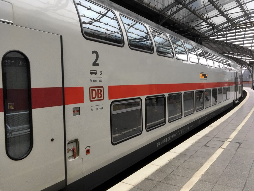 DB Doppelstok (double decker train) at Cologne Hbf