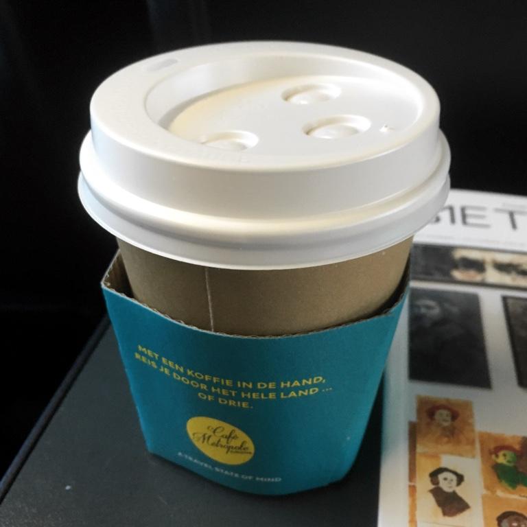 Eurostar coffee cup