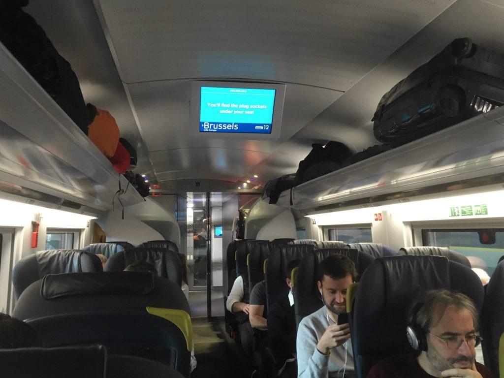 Photo of Eurostar e320 interior