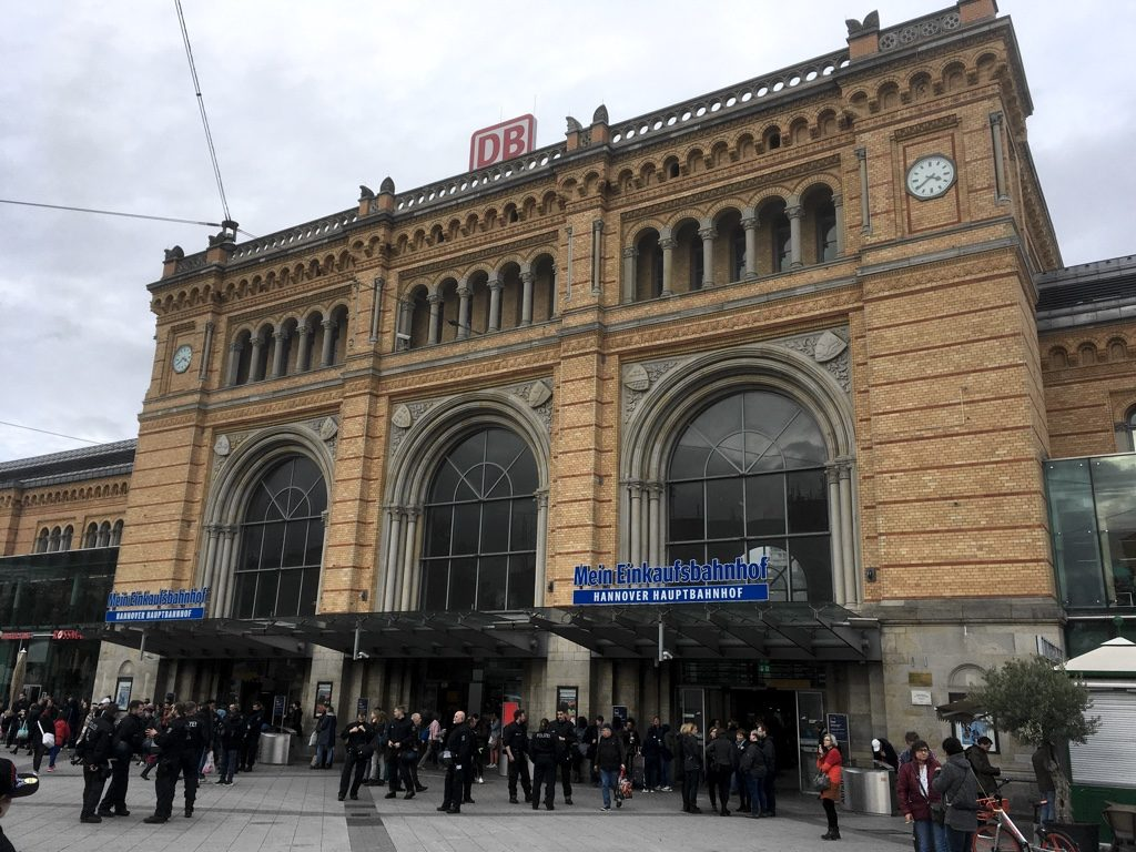 Photo of Hannover Hauptbahnhof station entrance