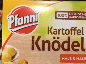 Photo of box of Kartoffel Knödel
