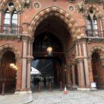 Photo of St Pancras station entrance