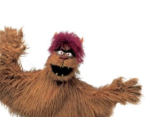 Picture of Trekkie Monster from Avenue Q
