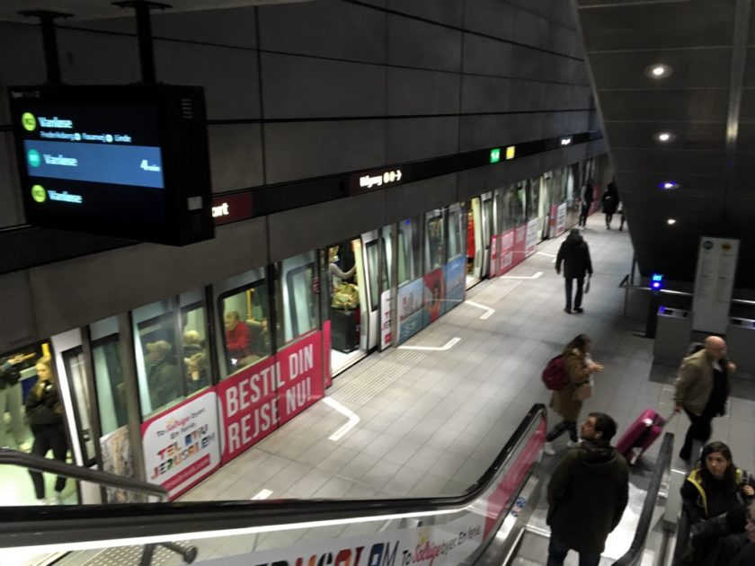 Photo of Copenhagen Metro station