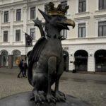 Photo of statue in Malmö city centre
