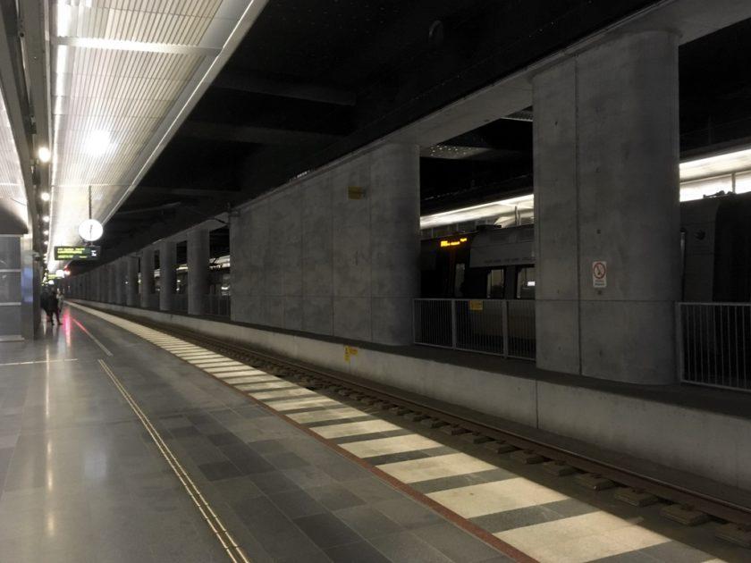 Photo of Malmö Central station underground platform