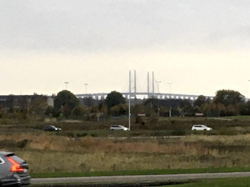 View of Øresund Bridge from Hyllie
