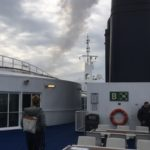 Photo of outdoor deck on Scandlines Ferry