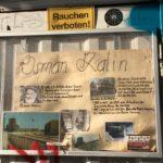 Baumhaus an der Mauer information panel