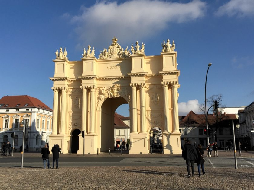 Photo of the Brandenburg Gate, Potsdam