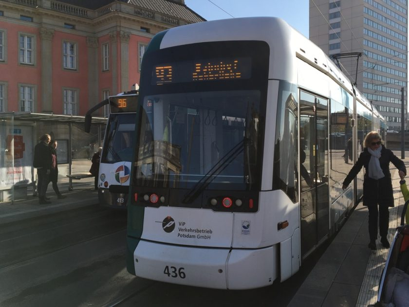 Photo of number 93 tram in Potsdam