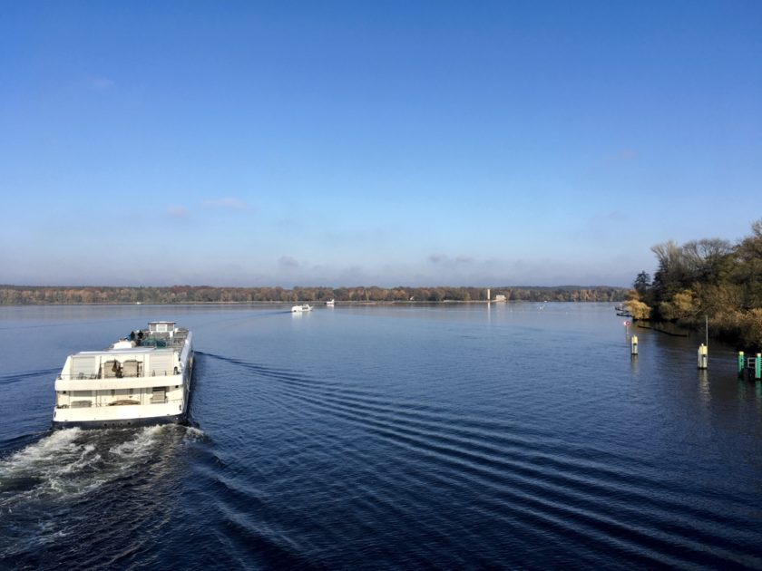 Photo of sightseeing ferries on the River Havel
